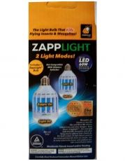 LED лампа против комари 2 в 1 Zapplight 15W/230V