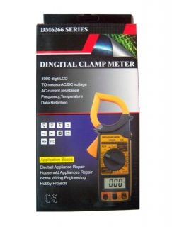 Ампер клещи DM-6266, Digital clamp meter